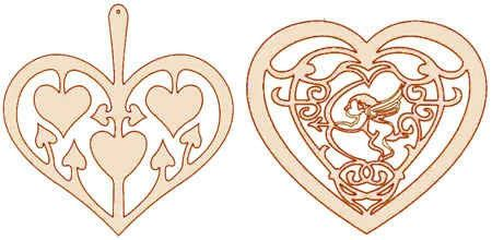 Сердечки - валентинки