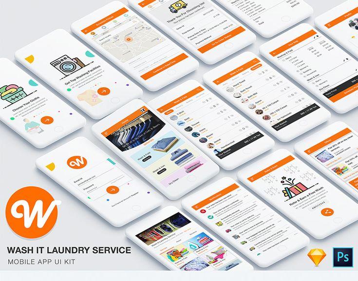 Food & Restaurant Ordering App UI Kit (Admin & User) on