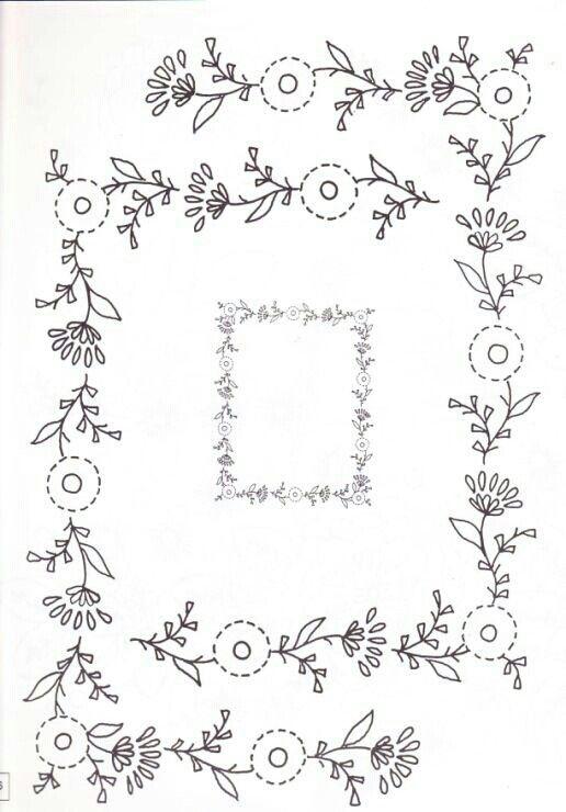 1763 Best Dibujos Para Bordar Images On Pinterest