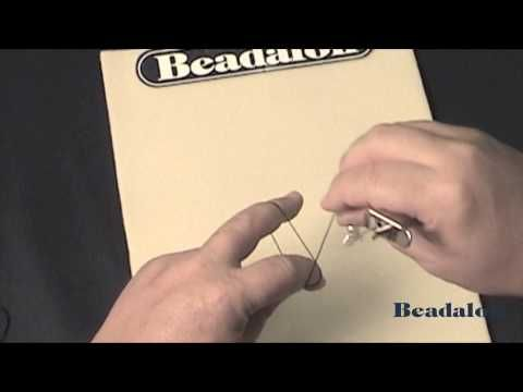 Beadalon - Knotter Tool - Best demo to see hand movement and to establish rhythm. #Beading #Jewelry #Tutorial