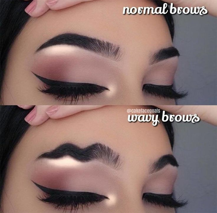 Wavy Brows (pic from IG)