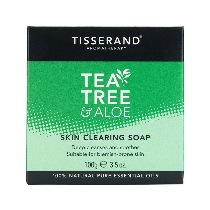 Tisserand Tea Tree skin soap
