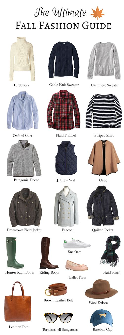 Plaid & Pearls: The Ultimate Fall Fashion Guide // Classic, preppy pieces for mixing and matching, and building a versatile fall wardrobe