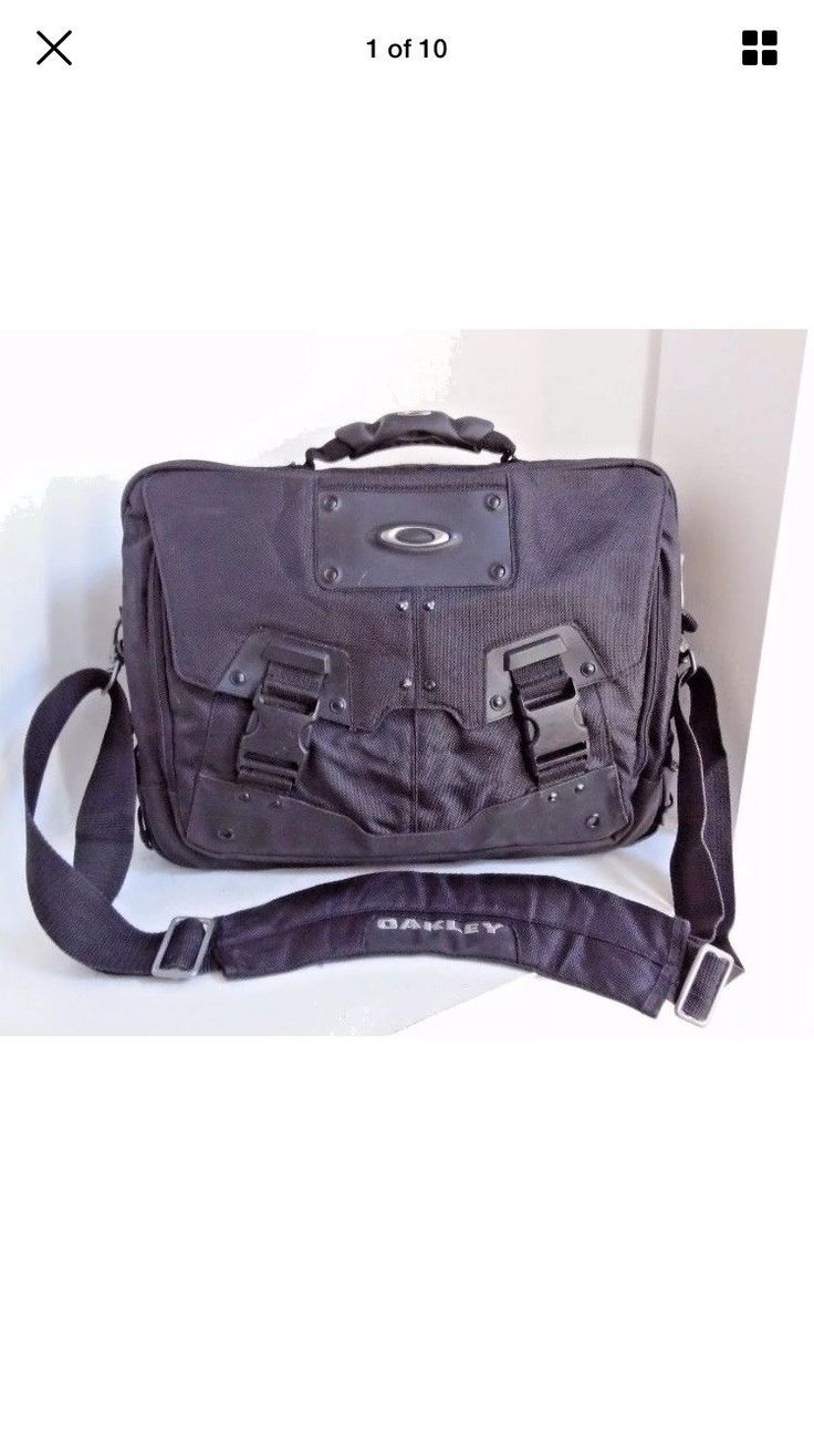 OAKLEY TACTICAL HOME OFFICE COMPUTER / LAPTOP BAG CASE - VERY NICE!!!