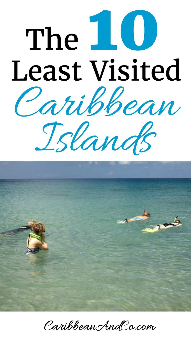 Want to go off the beaten path and interact more with locals than tourists on your next summer or winter vacation to the Caribbean? Then check out our list to find out which travel destinations in the Caribbean get the least amount of tourist and are awaiting further discovery.