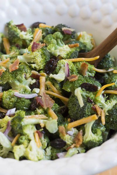 This is the best recipe for Broccoli Salad that I have ever had.