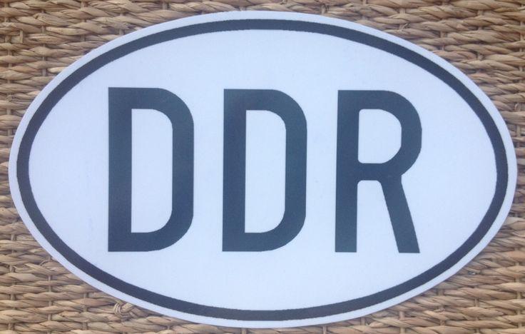 Продам правильные автомобильные наклейки ГДР DDR )))) fur Trabant, Skoda, Barkas, Wartburg