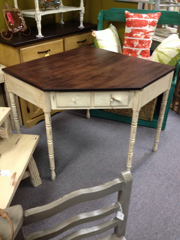 Best Desk Java Gel Stain Antique White Doesn T This Look 640 x 480