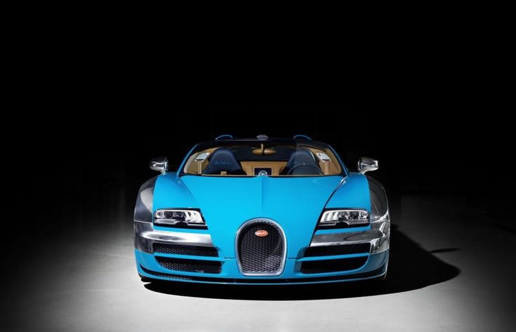Bugatti, Bugatti Veyron Grand Sport Vitesse WRC 2013 40 Blue Body Headlamp  Headlight Hood Bonnet