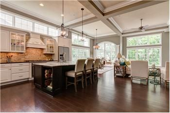 Transom window above kitchen cabinets | Above kitchen cabinets