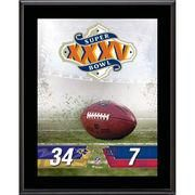 "#NFLShop.com - #NFLShop.com Fanatics Authentic Baltimore Ravens vs. New York Giants Super Bowl XXXV 10.5"" x 13"" Sublimated Plaque - AdoreWe.com"