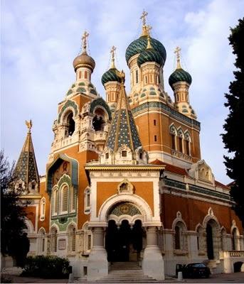 Catedral ortodoxa de São Nicolau em Nice