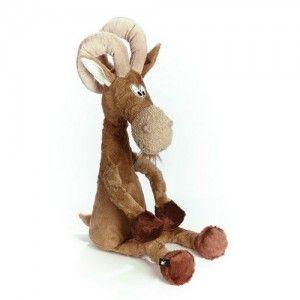 Fousatý kozel se rád pase na zelených stráních a užívá si sluníčka. Jenom pozor na ty jeho rohy.:)