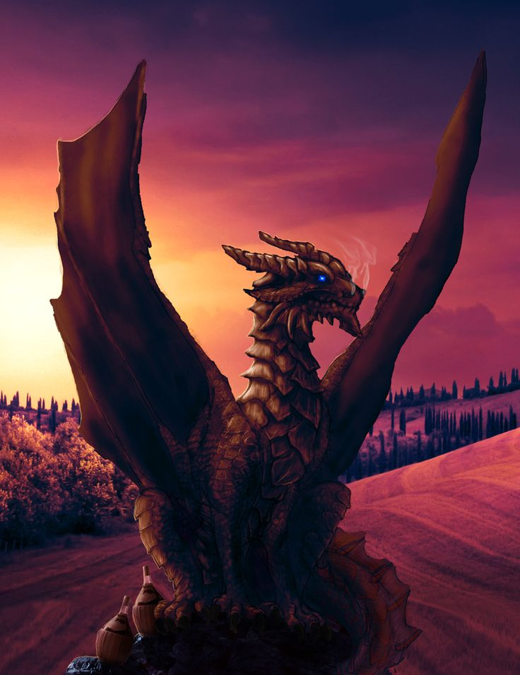 The Dragon of Tuscany by Netarliargus.deviantart.com on @DeviantArt