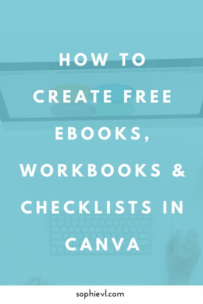 394 best computer tips images on pinterest tools technology and how to make a pdf ebook workbook or checklist using canva fandeluxe Image collections