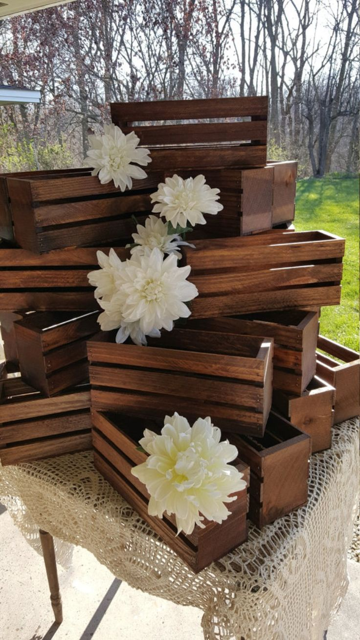 25+ Best Wood Wedding Centerpieces Trending Ideas On