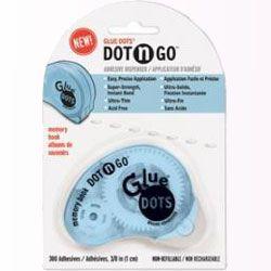 Applicateur d'adhésifs Dot n Go de Glue Dots - 10mm