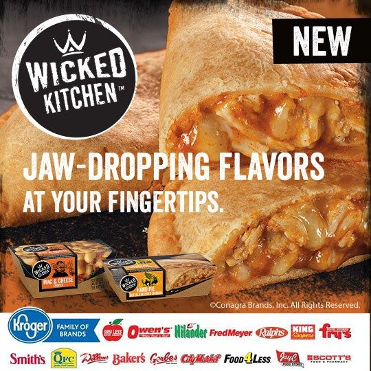 Have you tried Wicked Kitchen™️ Frozen Meals?! For a limited time, you can save $1.00 on any ONE (1) Wicked Kitchen Mac & Cheese or Hand Pie at Kroger! #EatWickedKitchen #ad Get it here--->http://wp.me/p2Fvb0-lWq #collectivebias #sofabfood