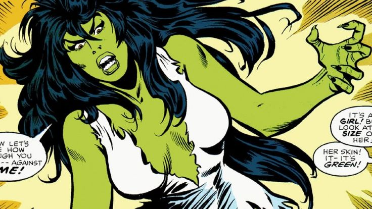She has most of the Hulk's power, but less of the rage