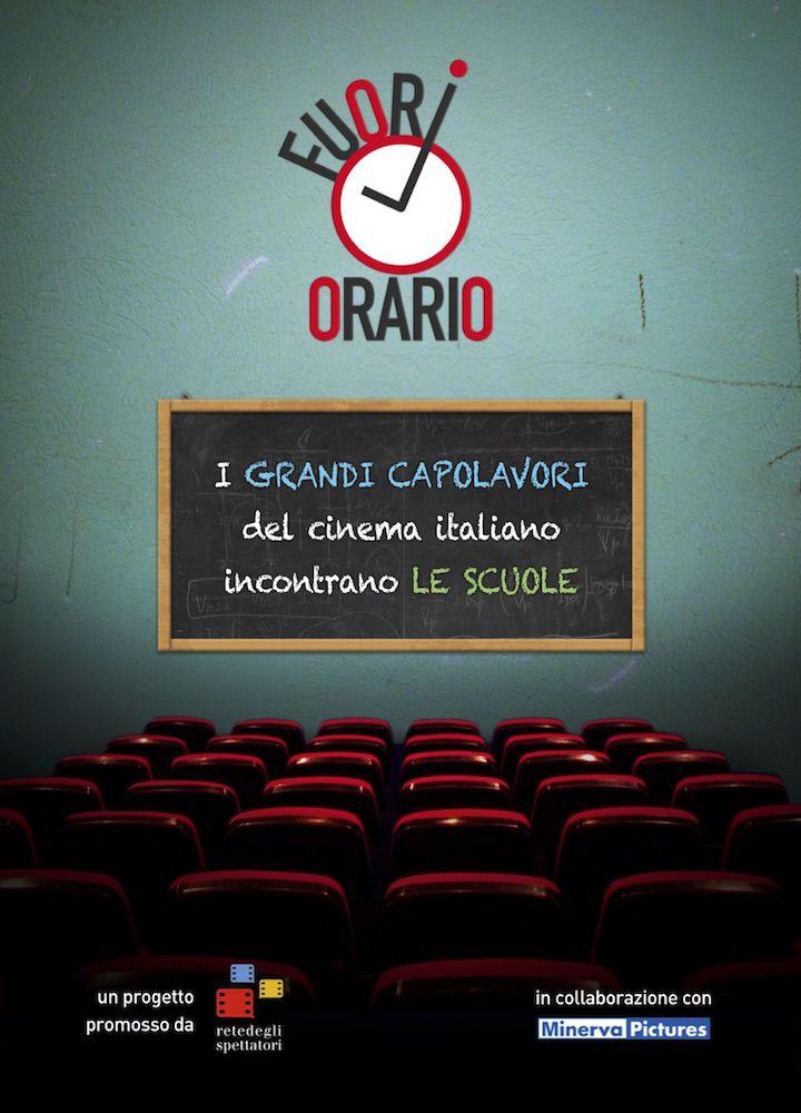 FUORI ORARIO: i capolavori del cinema italiano incontrano le scuole http://bit.ly/1PcABOS