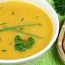 Japanese Pumpkin Soup (Kabocha Soup)