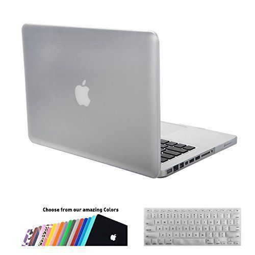 MacBook Pro 13 Case,iNeseon(TM) 2 in 1 [Frosted Series]Ultra Slim Rubberized Hard Case Cover and Keyboard Cover for Apple MacBook Pro 13/13.3 Model:A1278,NOT for MacBook Pro 13 with Retina(Clear)
