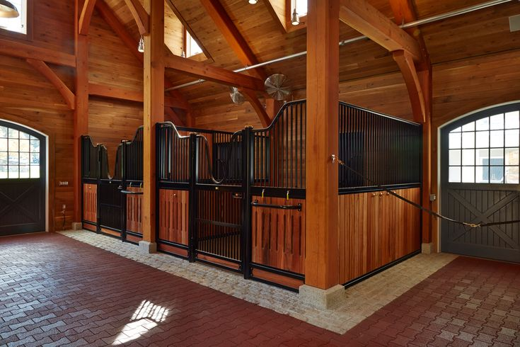 57 best european series horse stalls images on pinterest With best wood for horse stalls