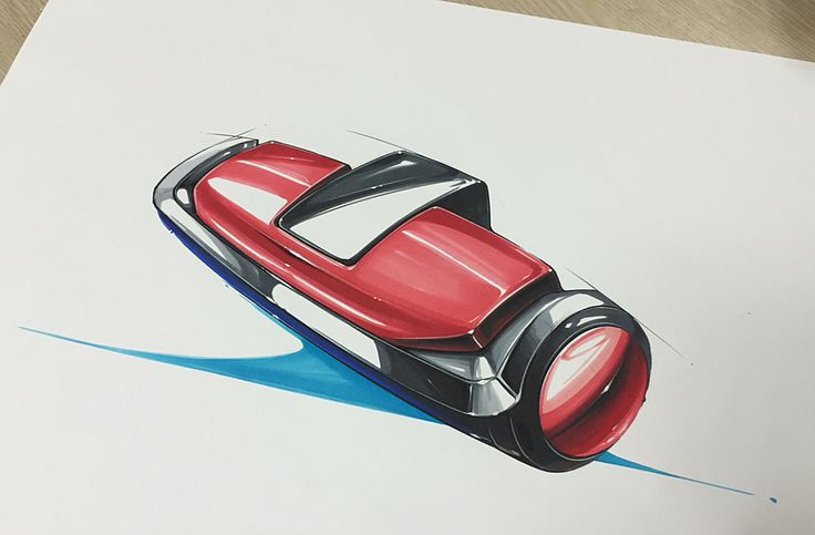 Product sketch & rendering on Behance