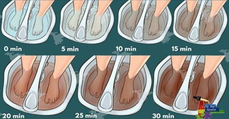 Com este método incrível, você vai tirar todas as toxinas do seu corpo pelos pés! | Cura pela Natureza
