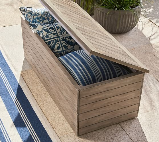 Indio Mahogany Outdoor Furniture Collection | Pottery Barn ...
