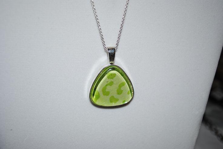Animal Print Necklaces  $15 4 colors - Gray, Green, Purple, Aqua  (Silver/Bronze)