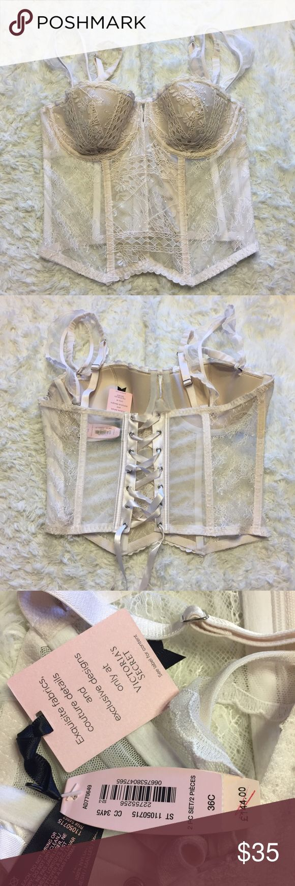 VS Designer Collection Coconut Bra 36C Padded, not a push up Victoria's Secret Intimates & Sleepwear Bras