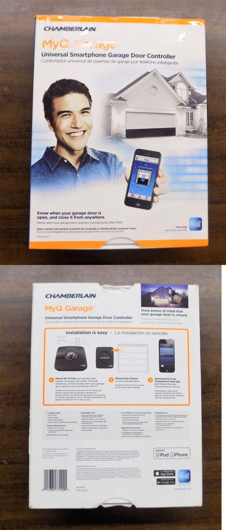 Garage Door Remotes 85899: Chamberlain Myq-Garage, Universal Smartphone Control Garage Door Opener New -> BUY IT NOW ONLY: $89.5 on eBay!