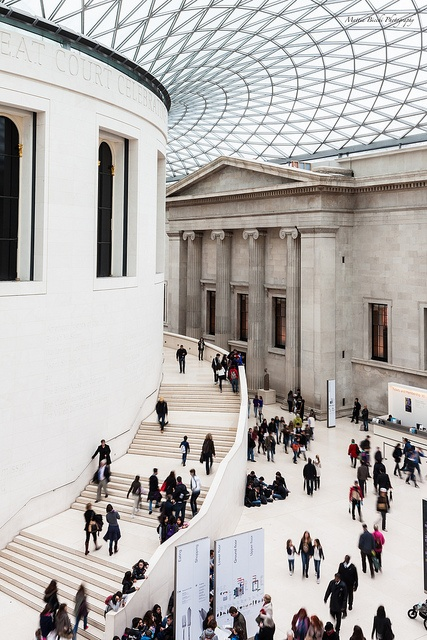 British Museum Architecture by Mattia Bicchi, via Flickr
