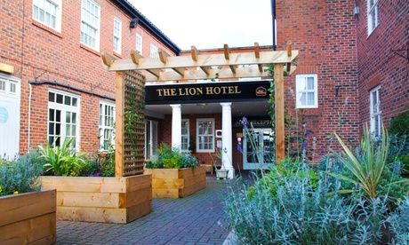 Get UK Deal: Nottinghamshire: 1 or 2 Nights with Prosecco for just: £45.00 Nottinghamshire: 1 or 2 Nights for Two with Breakfast and Prosecco at BEST WESTERN Lion Hotel  >> BUY & SAVE Now!