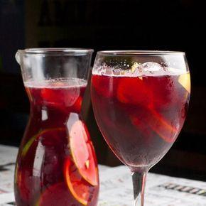 Veja receita de sangria de vinho tinto