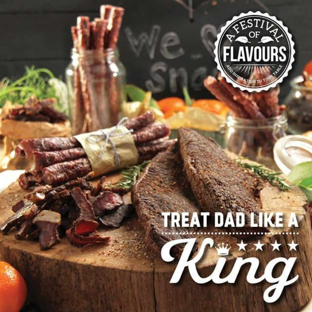 Biltong...the perfect gift for Dad this Fathers Day, what more could he ask for? Make him his own hamper filled with all his favourite treats.  You can even add his biltong treat into a delicious meal.  Warm him up with a biltong soup, or enjoy a biltong and feta quiche this weekend. #fathersday #foodloversamarket #biltong #special #deal #meat #southafrica #traditional #lovebiltong #lovedad #weekend #snack