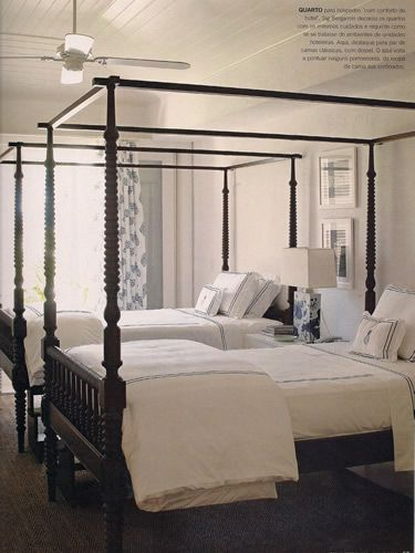 Twin Canopy Bed Frame WoodWorking Projects Plans