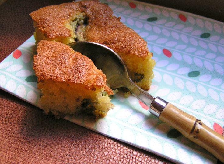 Gâteau de semoule aux figues fraiches http://lornithorynquechafouin.blogspot.fr/2013/08/gateau-de-semoule-aux-figues-fraiches.html