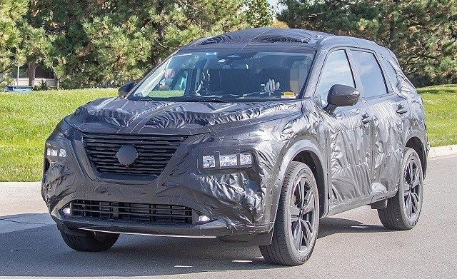 2021 Rogue Spied With Ariya Concept Elements Rogue Ev On The Way