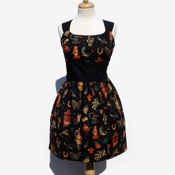 Hey, I found this really awesome Etsy listing at https://www.etsy.com/listing/106605123/plus-size-tattoo-art-rockabilly-pinup. Found my shower dress