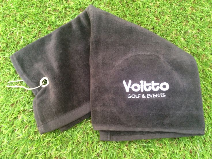 Toalla golf personalizada. Personalised golf towel.