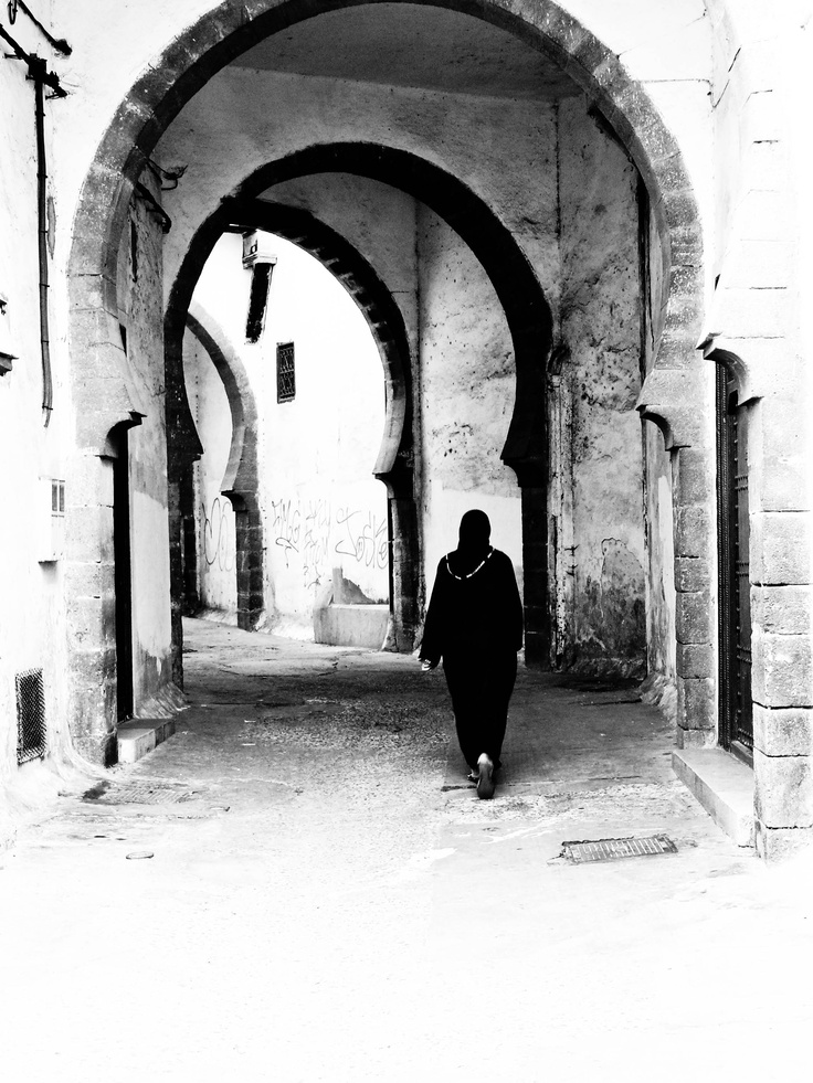 Woman in Rabat