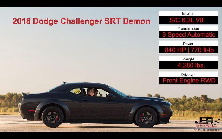 VIDEO: 200+mph In The Dodge SRT Demon…BONER! #dodge #srt #demon #hellcat #hemi #fast #loud #cars #racecar #horsepower #torque #mopar #moparornocar #srtlife