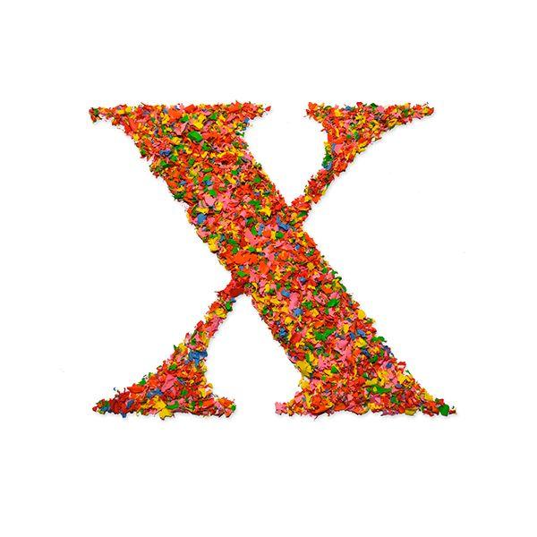 x - abecedario experimental - juan rubio