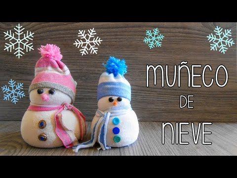 Manualidades para Navidad: muñeco de nieve de goma eva o foamy - Isa ❤️ - YouTube