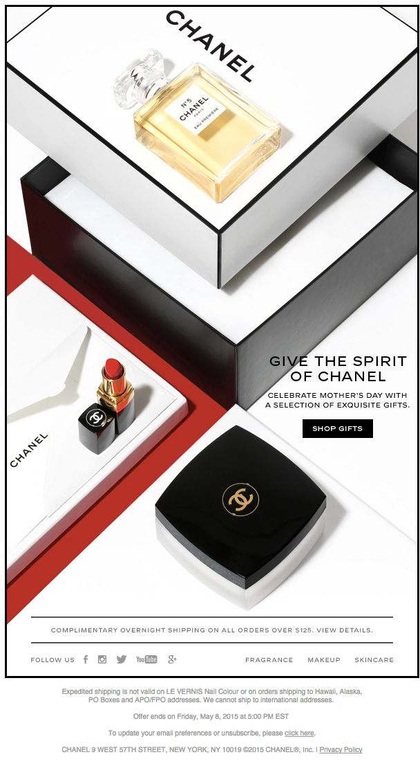 Chanel Email