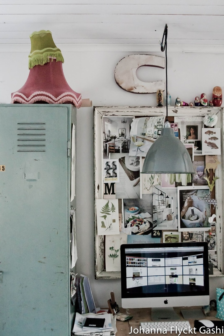 vintage shabby chic inspired office. VINTAGE. Vintage Shabby ChicVintage DecorCraft SpaceOffice WorkspaceOffice SpacesInspiration Chic Inspired Office S