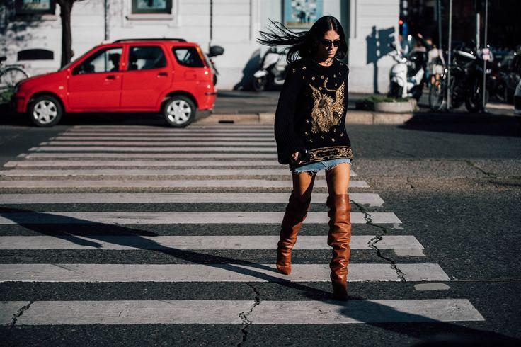 Dal 20al 26settembre, seguiremo con voitutto il meglio dello Street Stylevisto a Milano alla