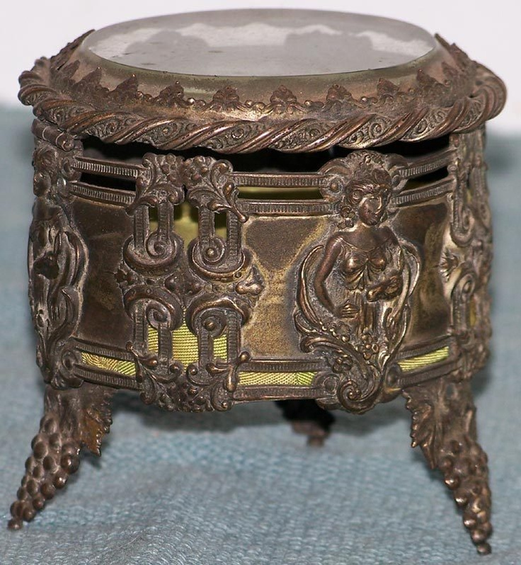 97 best Jewerly box images on Pinterest Antique boxes
